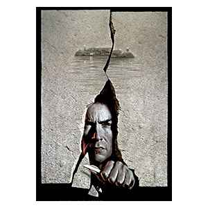 Escape from Alcatraz. Размер: 35 х 50 см